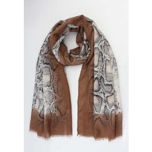"Scarf  ""Vicky"" brown"