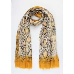 "Scarf  ""Vicky"" yellow"
