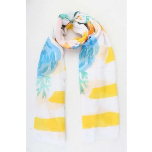 "Scarf  ""Valeia"" yellow"