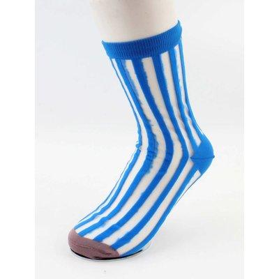 """Strumpfhose Socken  """"Toos"""" blau, doppelpack"""