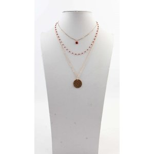 "Necklace  ""Tessy"" red"