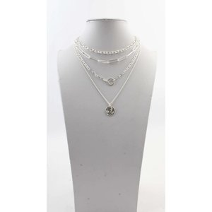 """Necklace  """"Tess"""" silver"""