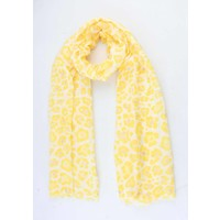 "Scarf  ""Ursina"" yellow"