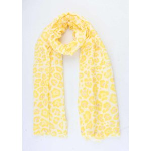 "Scarf  ""Ursina"" yellow"