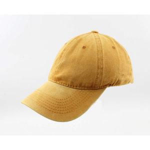 "Cap ""Washed denim"" ocher"