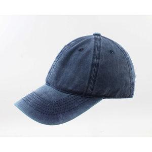 """Kap """"Washed Denim"""" Jeans blau"""