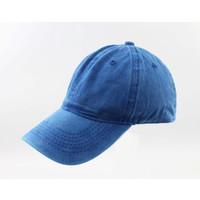 "Cap ""Washed denim"" blue"