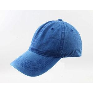 """Kap """"Washed Denim"""" blau"""