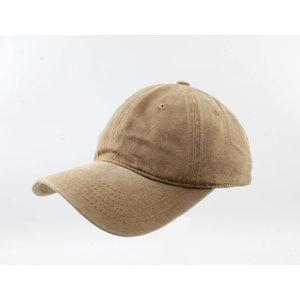 "Cap ""Washed denim"" brown"