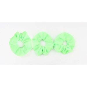 Scrunchie grün, pro 3 Stück