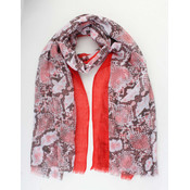 """Scarf """"Osly"""" red"""