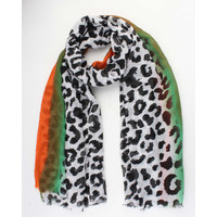 "Scarf ""Karima"" orange"