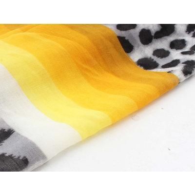 """Scarf """"Wawa"""" yellow"""