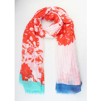 """Scarf """"Berenice"""" red"""