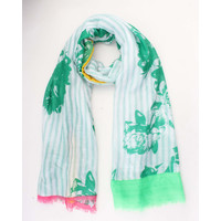 "Scarf ""Berenice"" green"