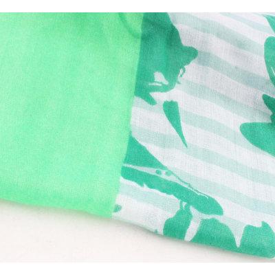"Scarf ""Berenice"" green"