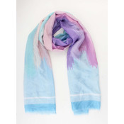 "Scarf ""Tahta"" blue/purple"