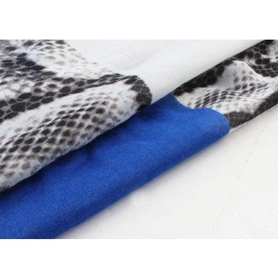"""Sjaal """"Jay"""" blauw"""