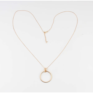 """Necklace """"Tourine"""" gold"""