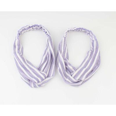 "Stirnband ""Choum"" lila, doppelpack"