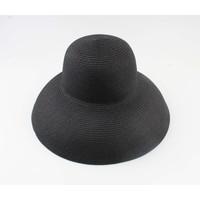 """Flap hat """"Gassane"""" black"""