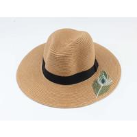"""Panama hoed """"Dakar"""" bruin"""
