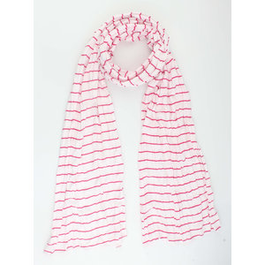 """Sjaal """"Velinga"""" roze"""