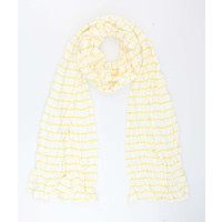 "Scarf ""Velinga"" yellow"