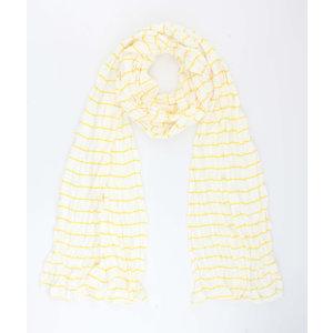 """Scarf """"Velinga"""" yellow"""