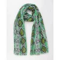 "Scarf ""Canjia"" green"