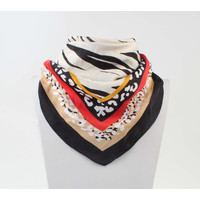 "Bandana ""Fifou"" black / multi"
