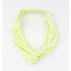 """Stirnband """"Choum"""" gelb, doppelpack"""