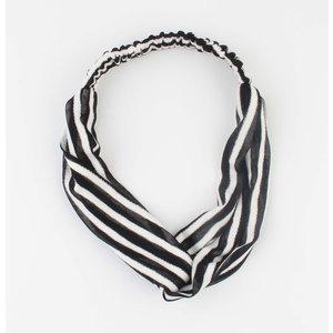 "Headband ""Choum"" black, per 2pcs."