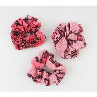 """Scrunchie """"Koutou"""" pink"""