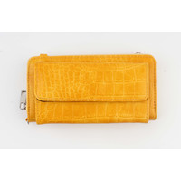"Wallet ""Souna"" ocher yellow"