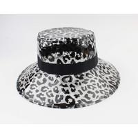 "Croche hat ""Hassa"" black / white"