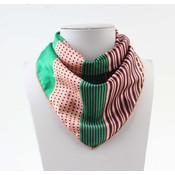 "Bandana ""Ivanga"" grün / pink"