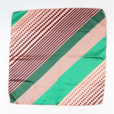 """Bandana """"Ivanga"""" groen/roze"""
