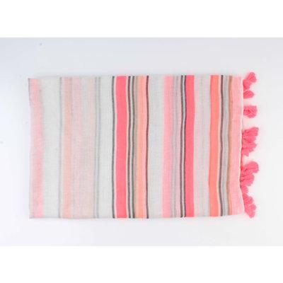 "Scarf ""Onga"" pink"