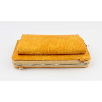 """Wallet """"Souna"""" ocher yellow"""