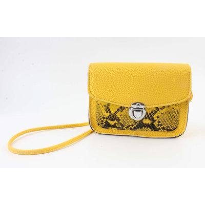 "Crossbody bag ""Lomie"" yellow"