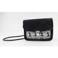 "Crossbody bag ""Lomie"" black / gray"