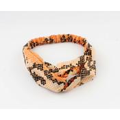 "Headband ""Tam"" orange"