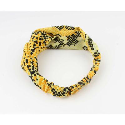 "Headband ""Tam"" yellow"