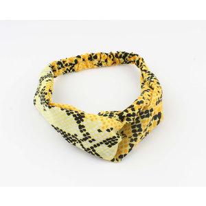"""Stirnband """"Tam"""" gelb"""