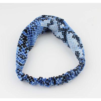 "Headband ""Tam"" blue"