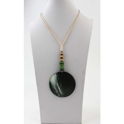 "Halskette ""Batela"" grün"
