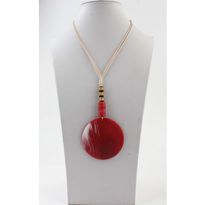 "Necklace ""Batela"" red"