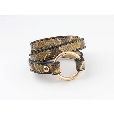 "Armband ""Pindo"" geel"