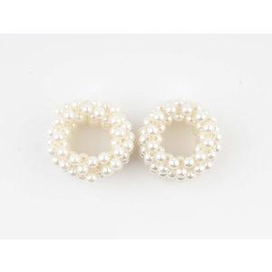 Haarelastische Perle, doppelpack